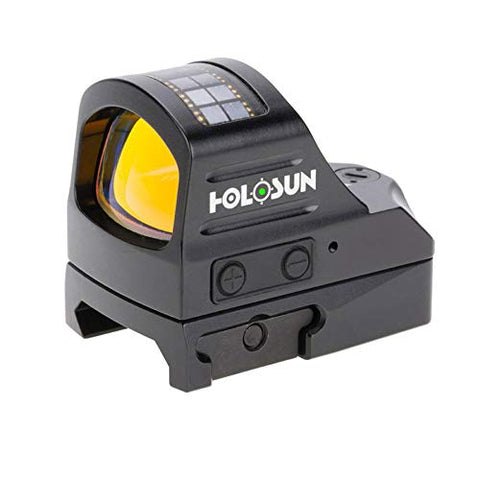 HOLOSUN HE407C-GR Reflex Sight, 2 MOA Green Dot