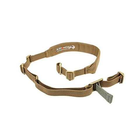 Blue Force Gear Vickers 2-Point Padded Combat Sling, Coyote Brown