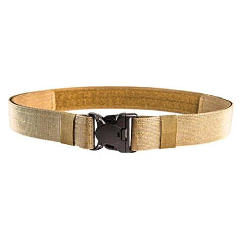 "High Speed Gear / HSG - HSGI: Cop Lock Duty Belt - LG - Coyote Brown - fits - 44"" to 48"" Belt Size; Includes Locking Buckle and Two Retention Sleeves"