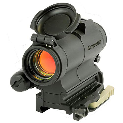 Aimpoint CompM5s Red Dot Reflex Sight with 39mm Spacer, LRP Mount - 2 MOA - 200500