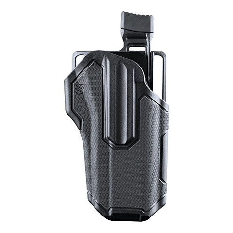 BLACKHAWK 419000BBR Omnivore MultiFit Holster, Right Hand, Black, One size