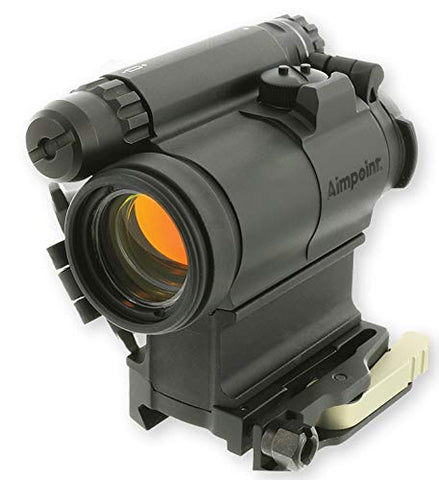 Aimpoint CompM5 Red Dot Reflex Sight with 39mm Spacer, LRP Mount - 2 MOA - 200386