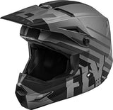Fly Racing 2020 Kinetic Helmet - Thrive (X-Large) (Matte Dark Grey/Black)