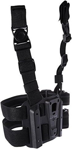 BLACKHAWK 432000PBK Tactical Holster Platform, Black