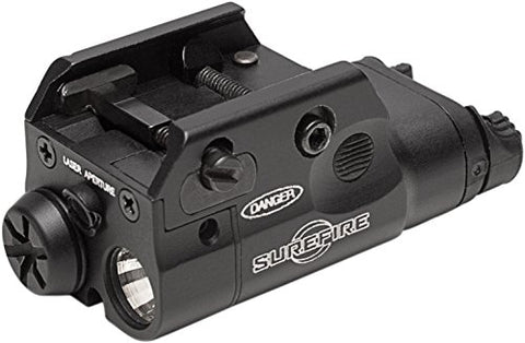 SureFire Weaponlights/XC2 Ultra Compact LED with Red Laser Handgun Light, Black