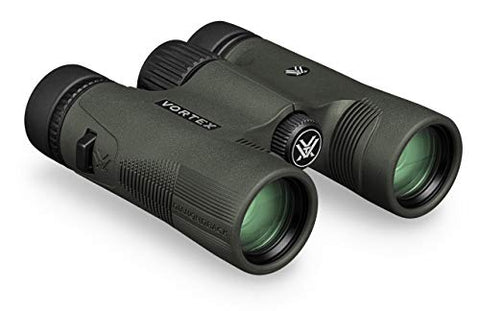 Vortex Optics Diamondback HD 10x28 Binoculars, Black, Model:DB-211