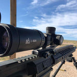 S2Delta 1-4X24 Carbine Scope, Red Dot Scope, Illuminated 5.56 BDC Reticle, 30mm Main Tube, SFP, Capped Turrets