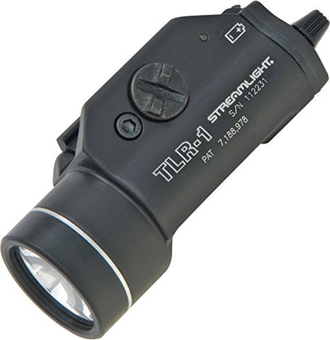 Streamlight 69110 TLR-1 Weapon Mount Tactical Flashlight Light - 300 Lumens,Black