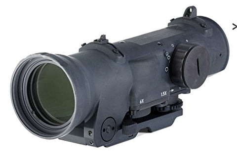 Elcan Specter Dual Role 1.5x/6x Optical Sight CX5455 Illuminated Crosshair Reticle DFOV156-C1