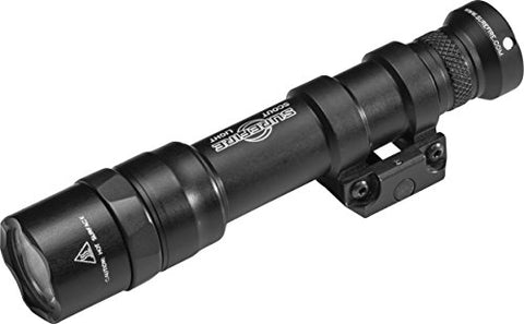 SureFire M600 Dual Fuel Scout Light with Z68 Switch and Thumbscrew Mount, Black (M600DF-BK)