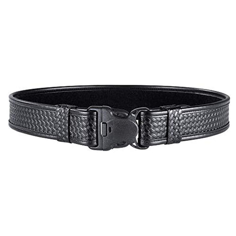 "Bianchi 7980 Duty Belt with Tri-Release Buckle, 2"" 28-34 Plain Black"