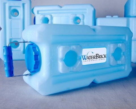 Water Storage Containers - WaterBrick - 2 Pack Blue
