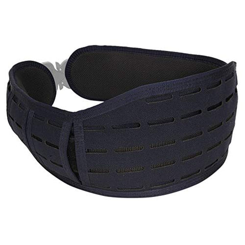 HSGI Laser Sure Grip Padded Belt - Slotted (LE Blue, Large)