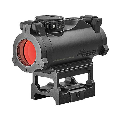 Sig Sauer Romeo-MSR 1x20mm 2 MOA Compact Green Dot Sight SOR72002