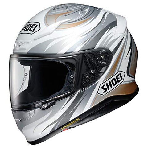 Shoei RF-1200 Incision Sports Bike Racing Motorcycle Helmet - TC-6 / Small
