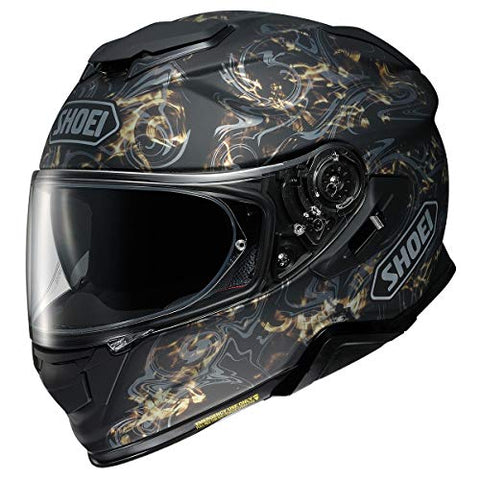 Shoei GT-Air 2 Helmet - Conjure (Medium) (Matte Black/Gold)