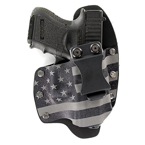 Gunmetal Gray USA IWB Hybrid Concealed Carry Holster (Right-Hand, SCCY CPX 1,2)