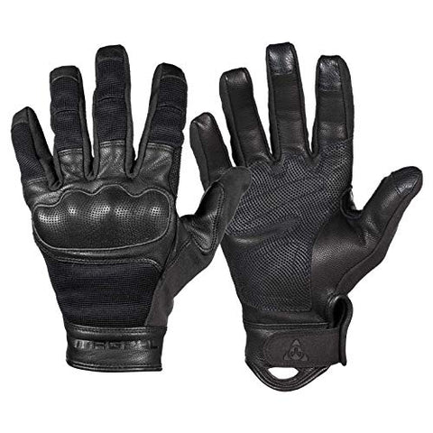 Magpul Core Breach Tactical Leather Gloves, Black, Large