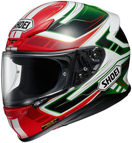 Shoei Valkyrie RF-1200 Street Bike Racing Motorcycle Helmet - TC-4 / X-Large