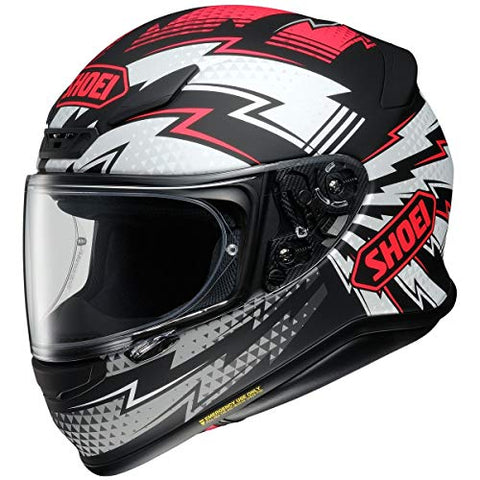 Shoei RF-1200 Helmet - Variable (Large) (RED/Black)