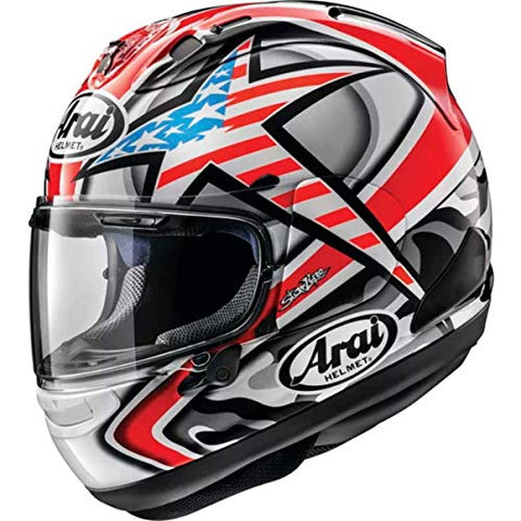 Arai Corsair-X Hayden Adult Street Motorcycle Helmet - White/Large