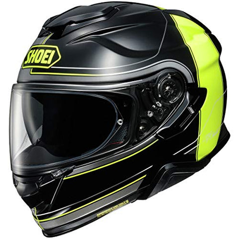 Shoei GT-Air 2 Helmet - Crossbar (Large) (Black/HI-VIZ)