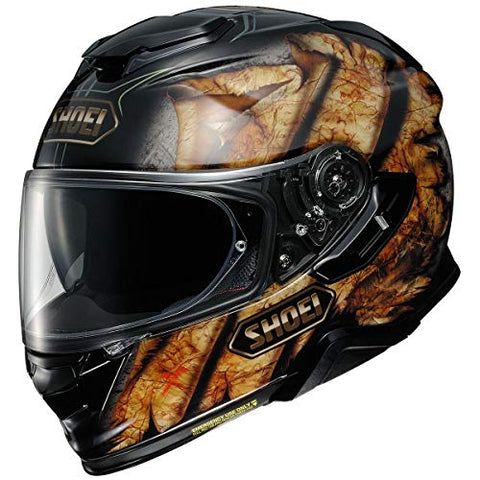 Shoei GT-Air 2 Helmet - Deviation (Large) (Black/Orange)