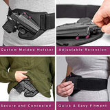 Tactica Defense Fashion - Belly Band Holster - Sig P365 - Right Hand - Extra Large