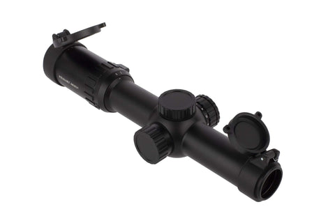 Primary Arms Silver Series 1-6x24 SFP Rifle Scope (Gen III) Illuminated ACSS 5.56 \ 5.45 \ .308 Reticle