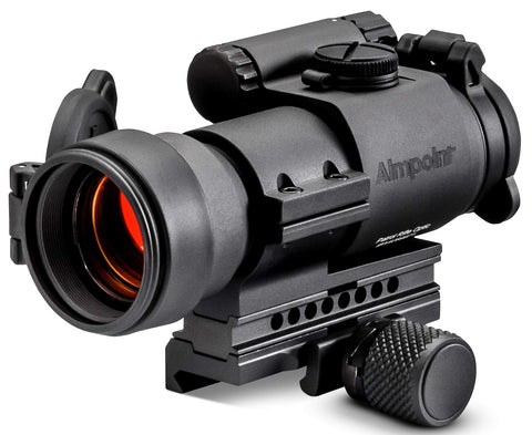 Aimpoint Patrol Rifle Optic (PRO) Red Dot Reflex Sight with QRP2 Mount and Spacer - 2 MOA - 12841