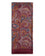 Men's Paisley Scarf with Classic Burgundy Design and Red Trim - The Fanelli