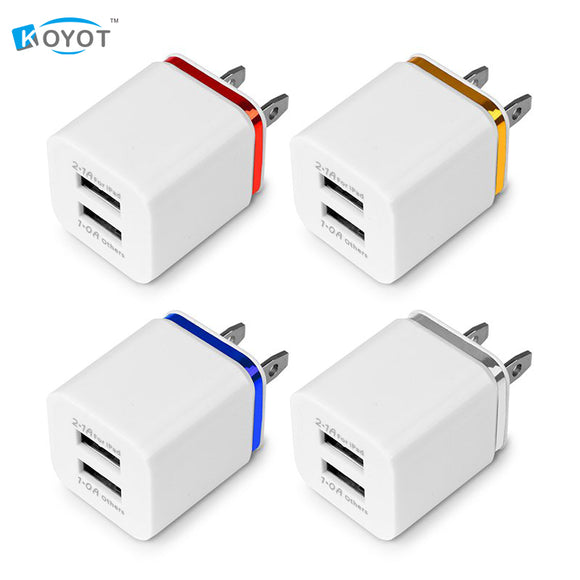 Universal 2 Port USB Charging Block