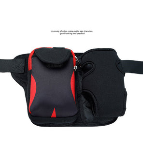 Sporting Waist Bag for Phone, Wallet, Keys and Hydration Unit