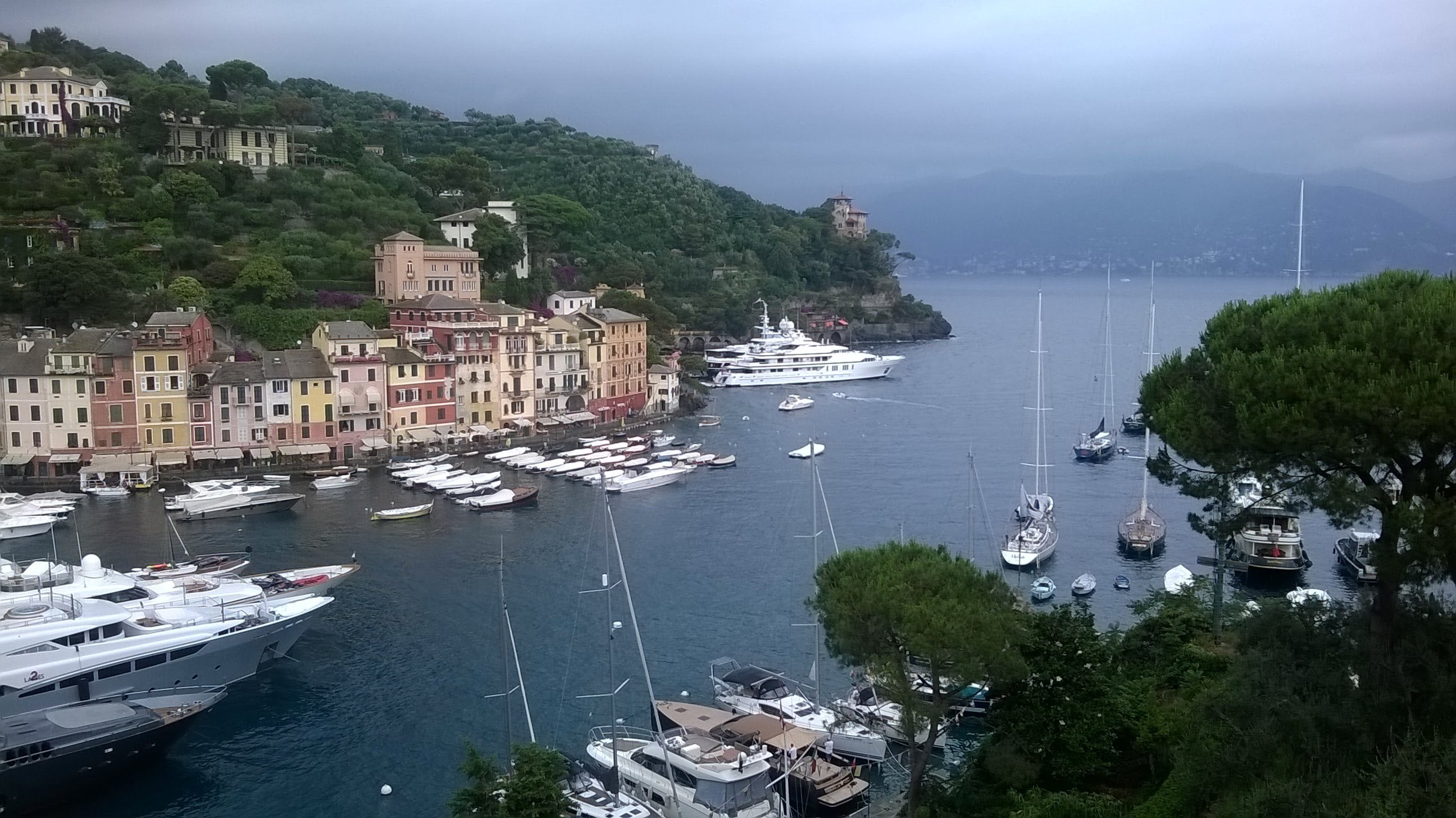 Portofino Greece tamed winds blog post 10 things every woman should learn before moving aboard (plus bonus Dad's coffee recipe)