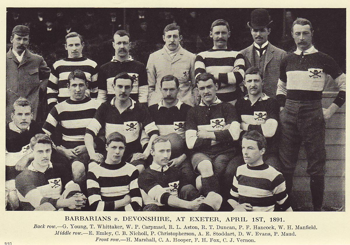tamed winds t-shirt shop and blog, barbarian rugby football club 1891