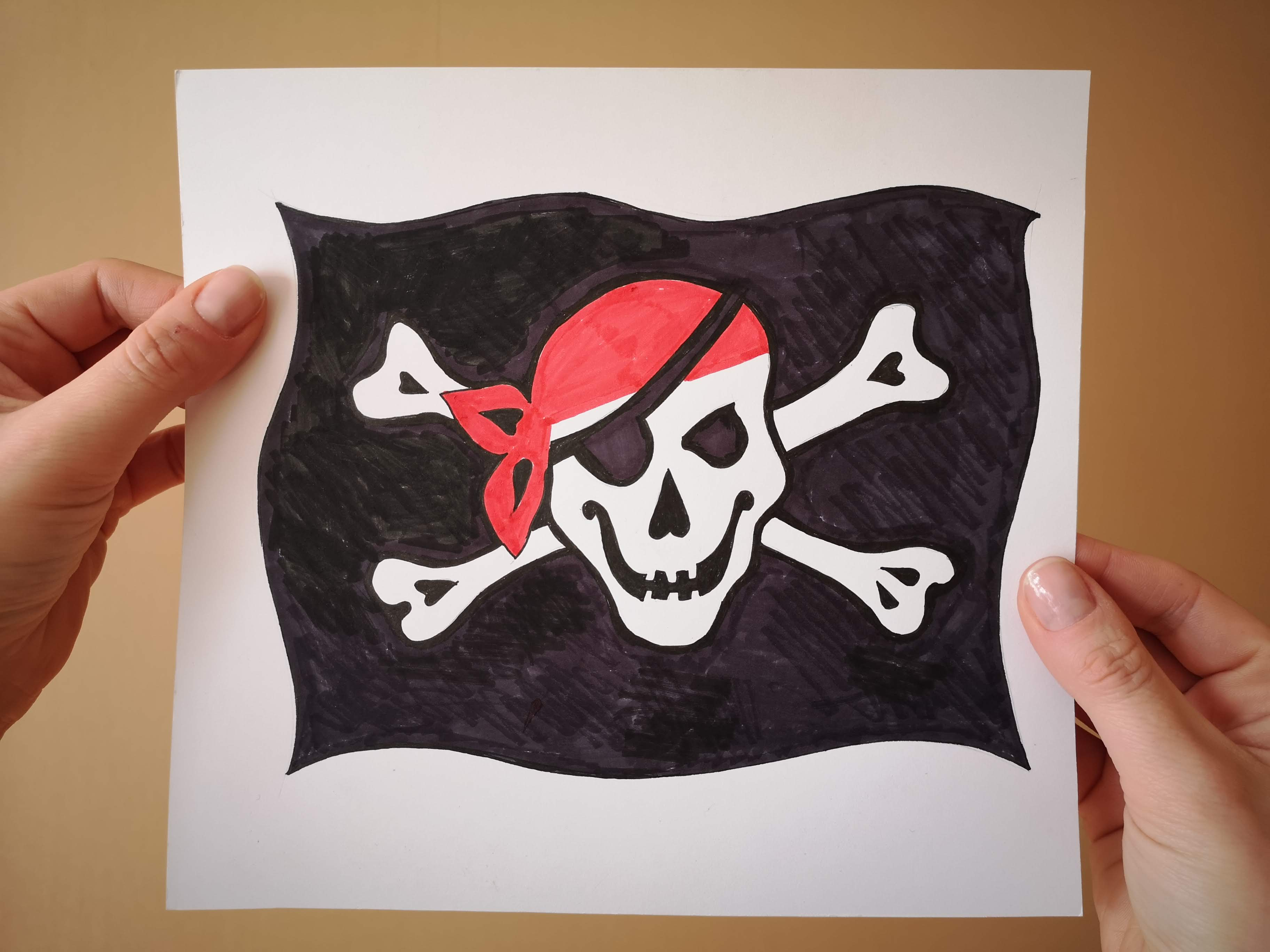 Courtesy Flag Jolly Roger Collection Ships and Boats Tamed Winds t-shirt shop and sailing blog