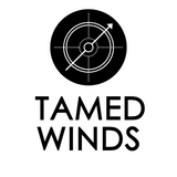 tamed winds t-shirt shop logo