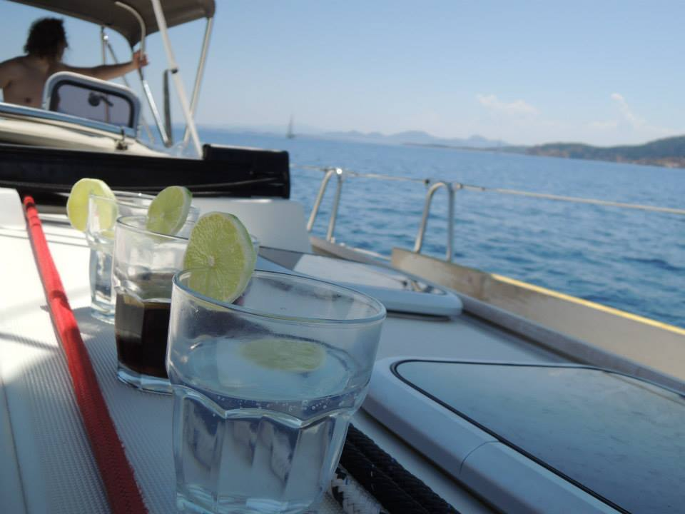 seasicknes Keep yourself hydrated, but don't abuse alcohol tamed winds t-shirt shop and sailing blog