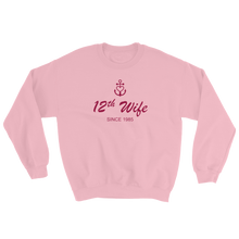 12th Wife Unisex Crewneck Sweatshirt, Collection Pirate Tales-S-Tamed Winds-tshirt-shop-and-sailing-blog-www-tamedwinds-com