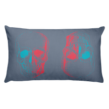 3D Skull Decorative Pillow, Collection Jolly Roger-Tamed Winds-tshirt-shop-and-sailing-blog-www-tamedwinds-com