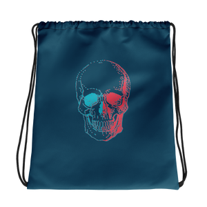 3D Skull Drawstring Bag, Collection Jolly Roger-Tamed Winds-tshirt-shop-and-sailing-blog-www-tamedwinds-com