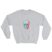 3D Skull Unisex Crewneck Sweatshirt, Collection Jolly Roger-Sport Grey-S-Tamed Winds-tshirt-shop-and-sailing-blog-www-tamedwinds-com
