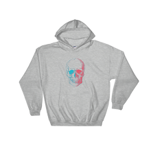 3D Skull Unisex Hooded Sweatshirt, Collection Jolly Roger-Sport Grey-S-Tamed Winds-tshirt-shop-and-sailing-blog-www-tamedwinds-com