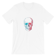 3D Skull Unisex T-Shirt, Collection Jolly Roger-White-S-Tamed Winds-tshirt-shop-and-sailing-blog-www-tamedwinds-com