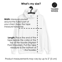 Tamed Winds t-shirt shop and sailing blog sizing guide