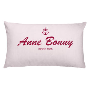 Anne Bonny Light Grayish Pink Decorative Pillow, Collection Pirate Tales-Tamed Winds-tshirt-shop-and-sailing-blog-www-tamedwinds-com