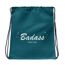 Badass Drawstring Bag, Collection Nicknames-Tamed Winds-tshirt-shop-and-sailing-blog-www-tamedwinds-com