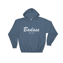 Badass Unisex Hooded Sweatshirt, Collection Nicknames-Indigo Blue-S-Tamed Winds-tshirt-shop-and-sailing-blog-www-tamedwinds-com