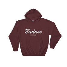 Badass Unisex Hooded Sweatshirt, Collection Nicknames-Maroon-S-Tamed Winds-tshirt-shop-and-sailing-blog-www-tamedwinds-com