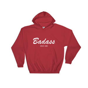 Badass Unisex Hooded Sweatshirt, Collection Nicknames-Red-S-Tamed Winds-tshirt-shop-and-sailing-blog-www-tamedwinds-com
